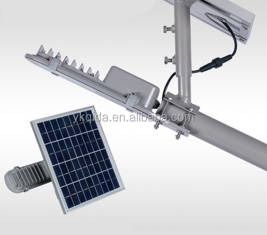 Solar Street Light Auto-sensor time-control 8W all in one