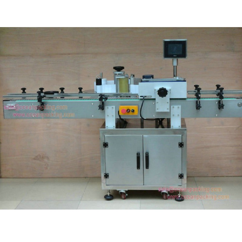 Top level best sell automatic card pack labeling machine