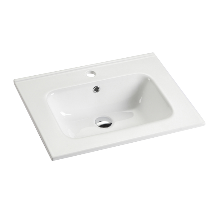 New Style Hotel Bathroom Table Counter top Modern Ceramic Hand Wash Basin  Professional Ceramic Basin
