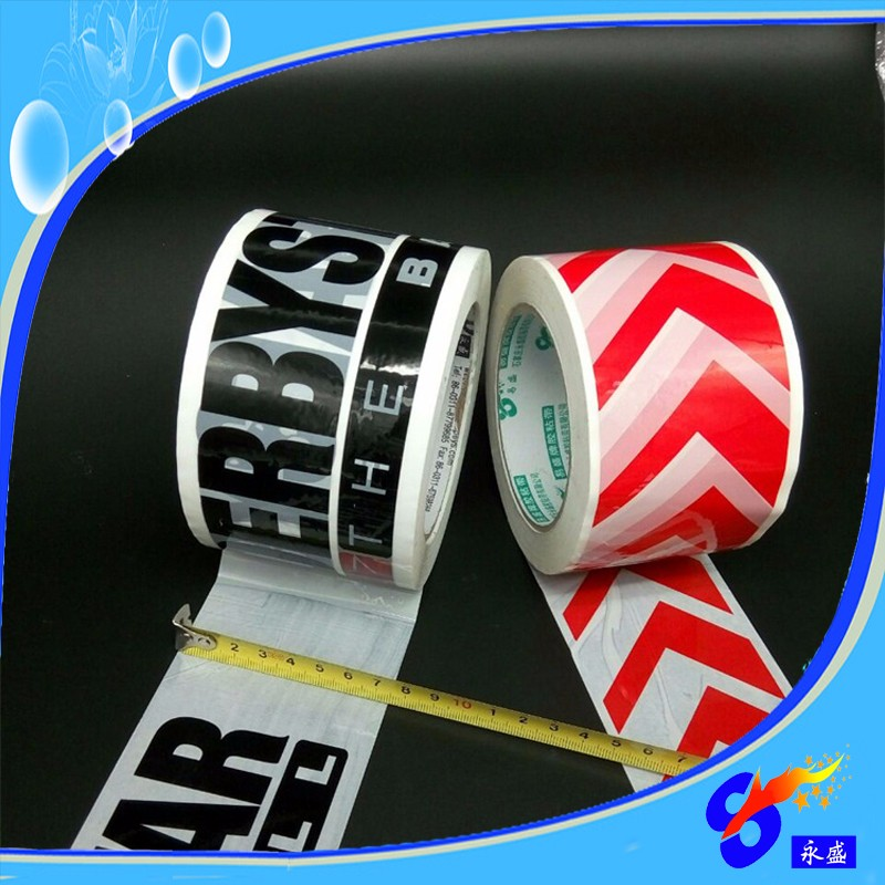 Acrylic logo printed adhesive tape UK