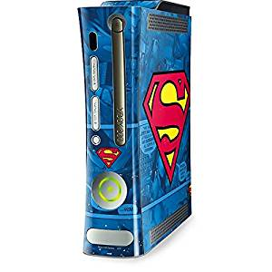 DC Comics Superman Xbox 360 (Includes HDD) Skin - Superman Logo Vinyl Decal Skin For Your Xbox 360 (Includes HDD)