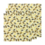 3pcs sustainable organic cotton beeswax food wrap