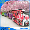 China family love funny play outdoor christmas train for outdoor use mall train