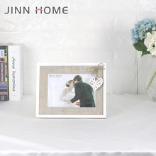 MR&MRS Lover 5x7 Funia Photo Frame White Wedding Decoration Tabletop Family Bedroom Use