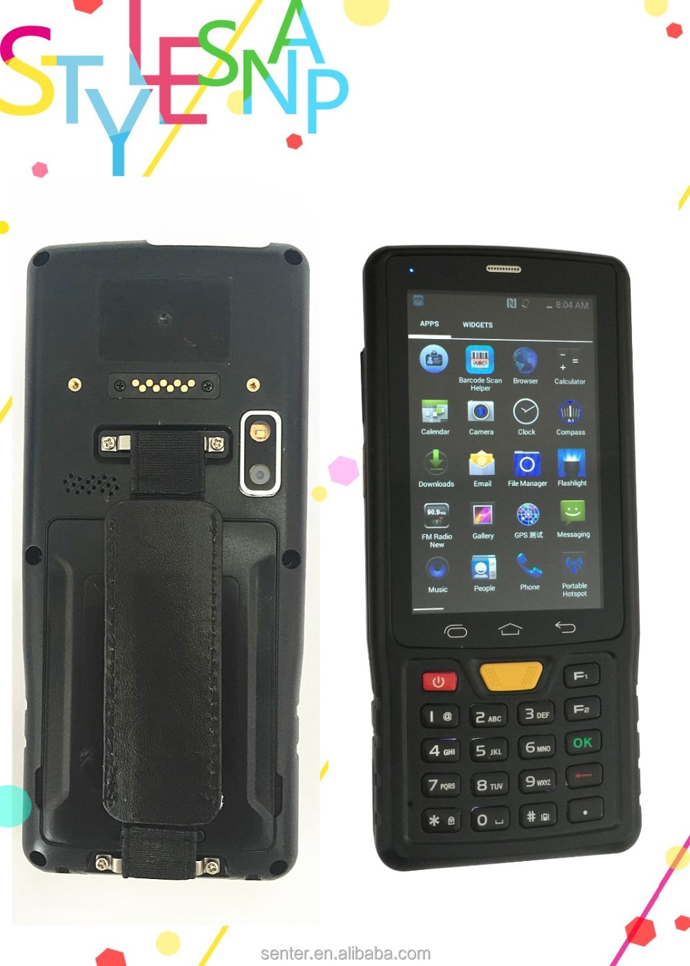 A recution in price personal digital assiant /Rugged PDA with HF RFID reader identification distance not more than 6m