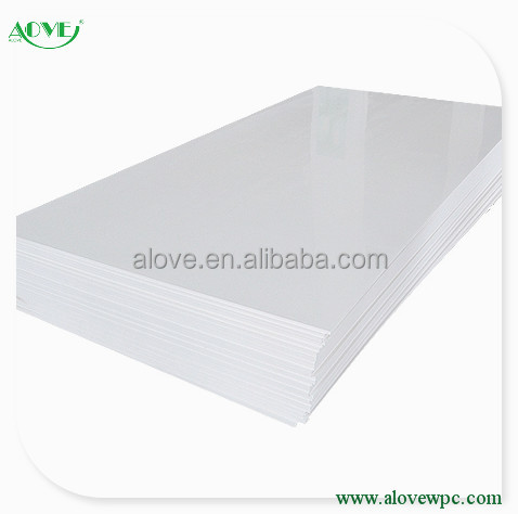 Hot selling wpc foam board 1220*2440mm Pvc Schuim Blad fabrikant/Foam Board Laser Cutter