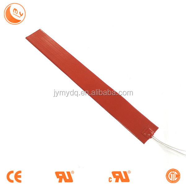 customized silicone rubber heater electric film/resistance wire heating element 24V