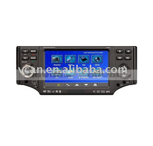 "car usb radio 4.3"" 1Din Car DVD Player Touch Screen SD USB Radio TV Tuner Blue"