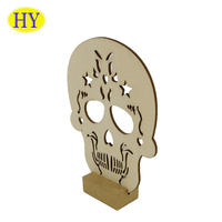 Customized hand carved wooden home decor crafts in various shapes