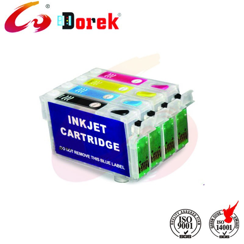 T2201 refill ink cartridges for epson WorkForce WF 2630 2650 2660 with latest compatible chips