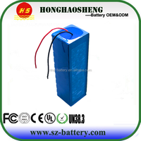 UL Approval Rechargeable Li Ion 36V 10ah/48V 10ah Electric Bike Battery in USA Market