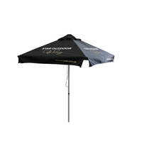 SHOP aluminium promotion printed sun shade garden beach cafe market umbrella