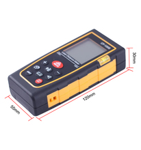 NEW Ultrasonic Distance Measurer Rangefinder With Laser Pointer 100M