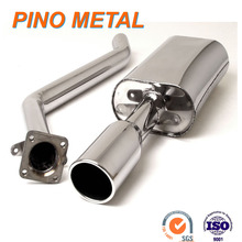 Stainless steel muffler for car accessories