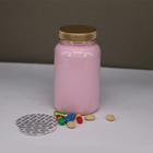 Factory Direct Sale Pink Medicine Bottle for Capsules 225ml 250ml