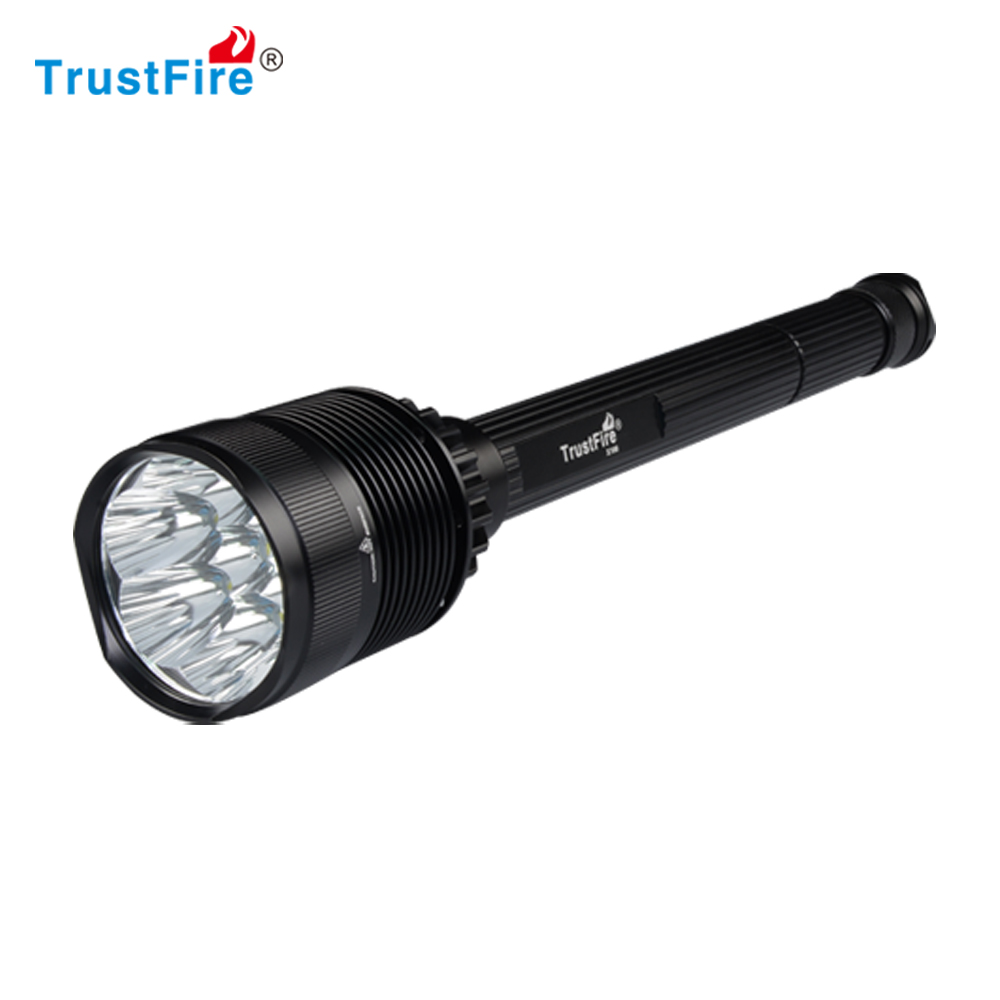 xml t6 led flashlight 8000 lumen hunting bright flash torch trustfire X100 xml t6 hunting flashlight