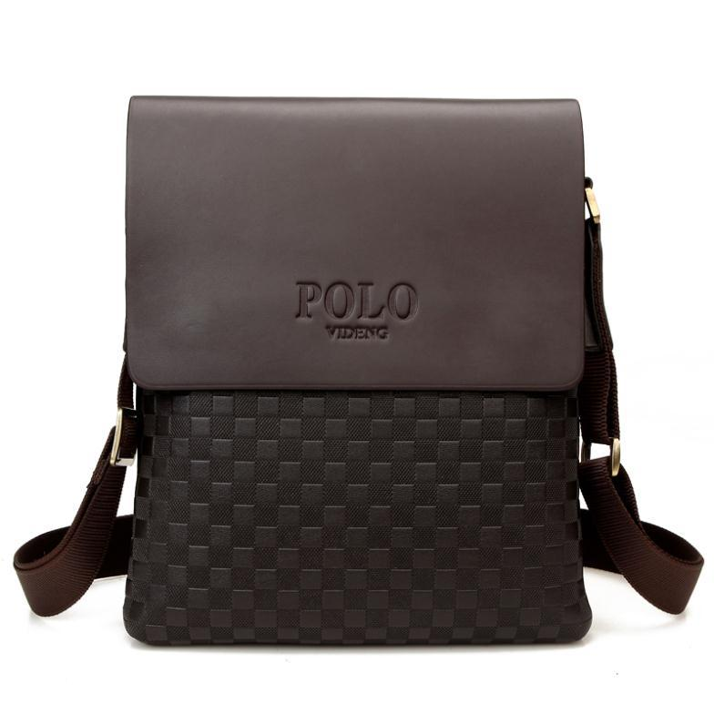 Get Quotations 2017 New Mens Polo Bag Pu Leather Men Messenger Leisure S Briefcase Fashion