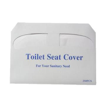Custom Made Gedrukt Wegwerp Flushable Papier Toilet Seat Cover
