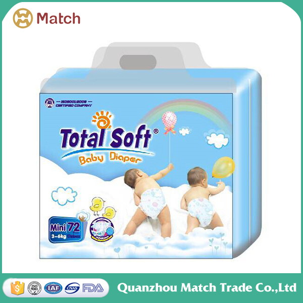 OEM baby waterproof paper diaper factory disposable baby diapers