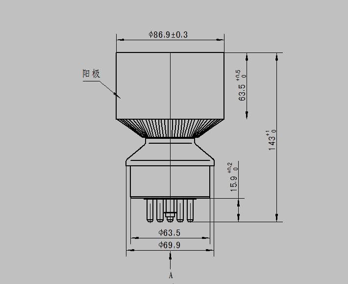 Eimac Electron Tube Triode Rf Power Amplifier 3cx1500d3 - Buy Rf Power  Amplifier,High Power Rf Power Amplifier,Electron Transmitting Tube Product  on