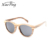 high quality replica custom logo UV 400 ce fsc veneer wooden sunglasses