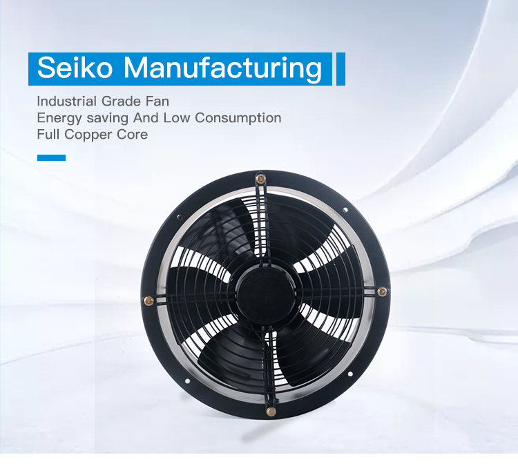 YWF single and double shaft efficient cylindrical axial Fan