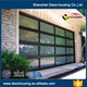 16x8 9x8 8x7 Modern electric security insulated aluminum glass garage door prices