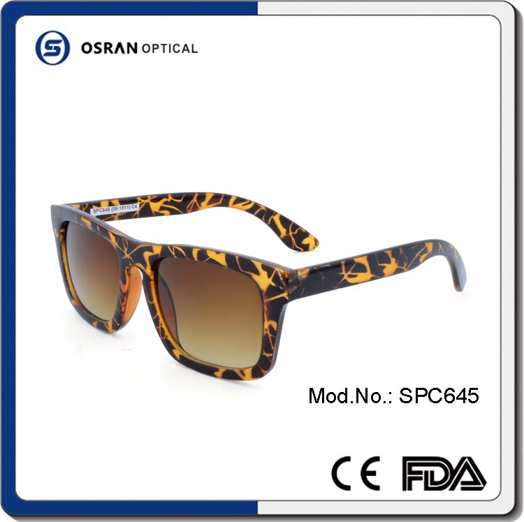 Branded Rectangle cateye Sunglasses Unisex High Quality PC Injected in Spanish custom import Sunglasses