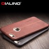 QIALINO Dropshipping Case, Ultra Slim Premium Leather Back Cover For iPhone 6 6s Plus