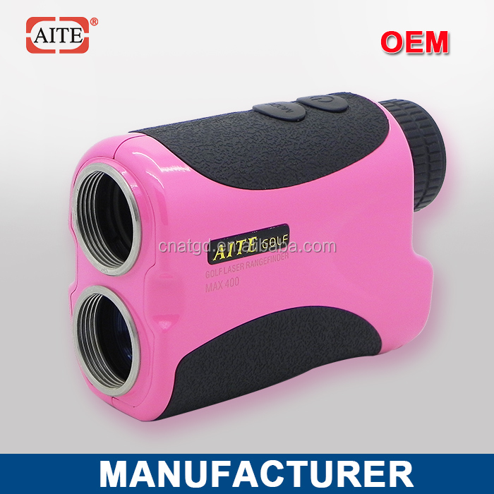 6*24 400m Laser rangefinder with pinseeking and slope measure function golf bag travel cover
