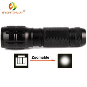 Competitive price Zoom focus Camping zooming powerful led torch light