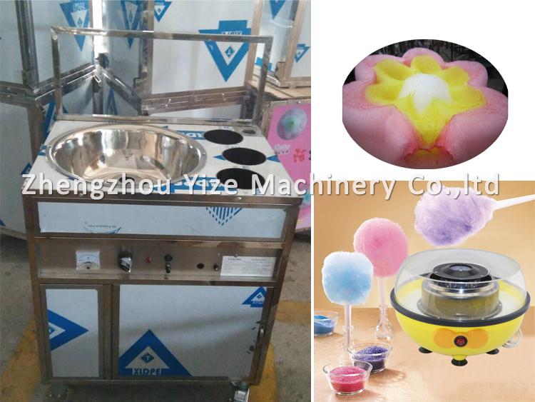 ELECTRIC rosso zucchero filato macchina continua a casa cotone Sugar Candy Floss Maker