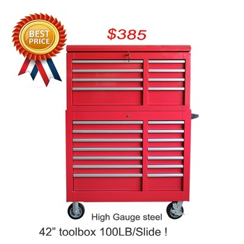 Heavy duty cold-roll steel sheet tool box roller cabinet for Car repairing shop