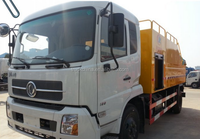 Dongfeng sewer cleaning truck, combined Sewer Flushing and Cleaning Vehicle,vaccum flushing truck