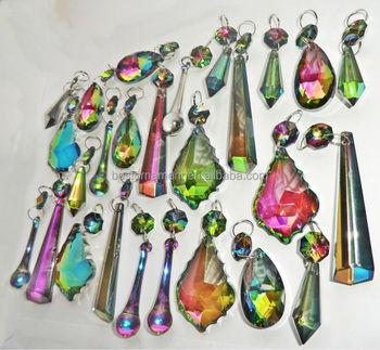 Vitrailis ab wedding glass chandelier droplets buy colored acrylic vitrailis ab wedding glass chandelier droplets mozeypictures Choice Image