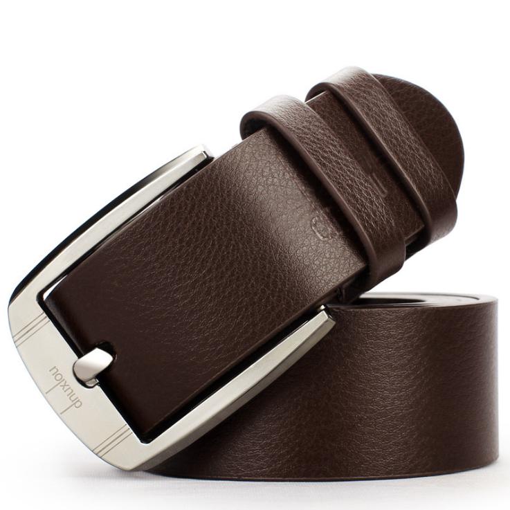 2019 hommes ceinture vache en cuir véritable de luxe sangle mâle ceintures pour hommes nouvelle mode classique vintage boucle ardillon livraison directe