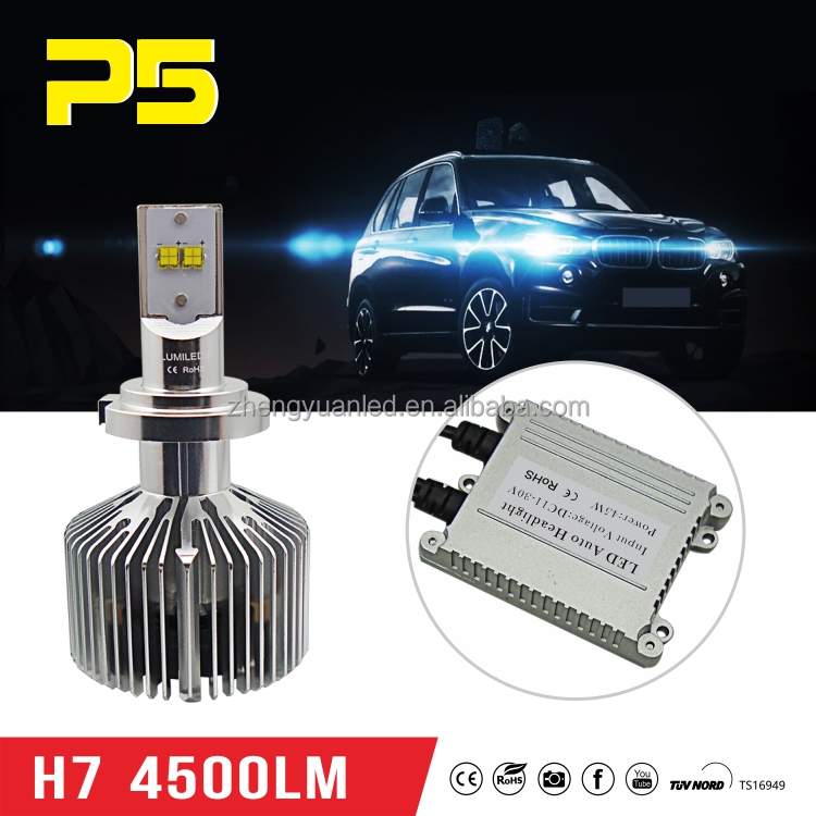 Top quality H7 led P.il.ip.s head light good price High power H7 headlight led Auto led head lamp