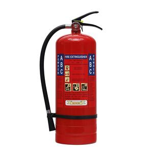Easy to use 5kg dcp fire extinguisher filling machine simulator with hook