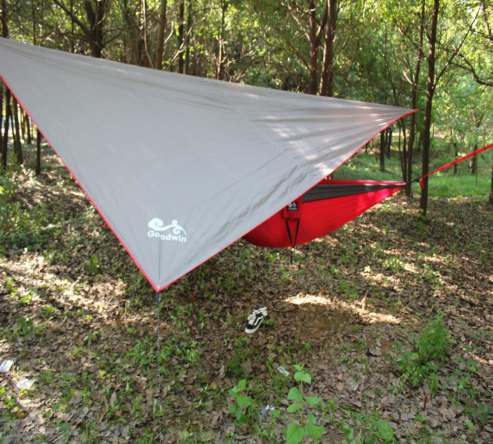 Double Camping Hammock Waterproof Lightweight Parachute 210T Portable Hammock, 2 Heavy-Duty