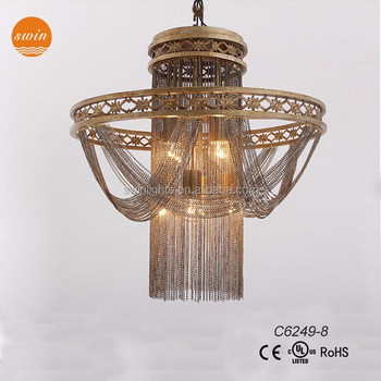 Wholesale design french empire chainmail iron chandelier 8 lights wholesale design french empire chainmail iron chandelier 8 lights c6249 8 aloadofball Gallery