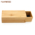 wholesale square box packaging boxes custom logo cheap bamboo sunglasses case