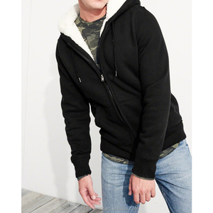 High quality soft sherpa black hoodie bts hoodie boys for winter