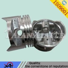automobiles spare parts cast aluminum piston