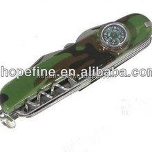 Multi-purpose multi functional Army Knife with compass