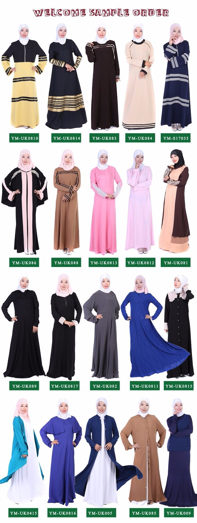 Best selling dubai fashion jubah abaya 2016