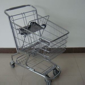 American style un folding shopping cart