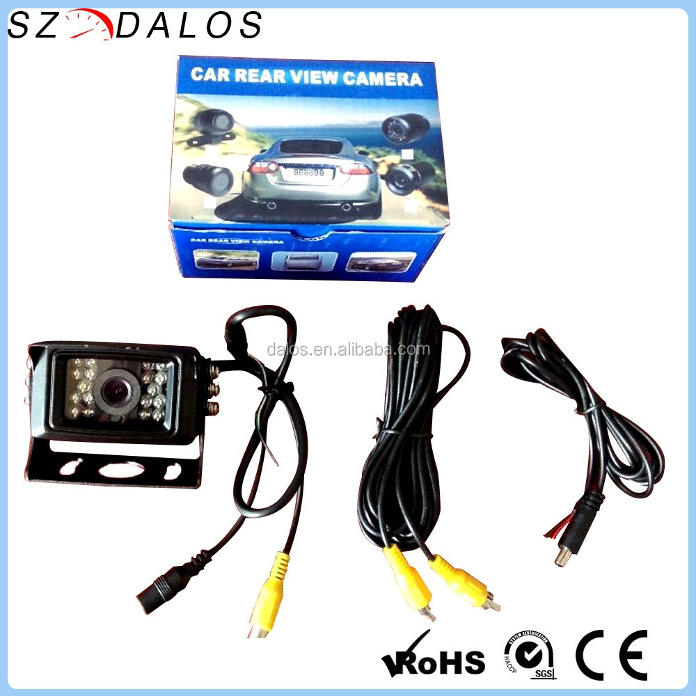 Systematic Universal Car Rear Forward Side View Parking Reverse Backup Camera Night Vision Car & Truck Parts Mouldings & Trim