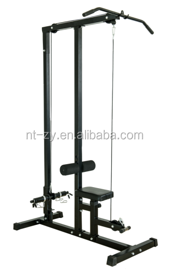 Casa desplegable gimnasio Multi-Cable & Bar para tirar Downs y remo estilo ejercicios
