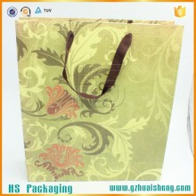 High Grade Wholesale Paper Gift Bag For Apparel Packaging