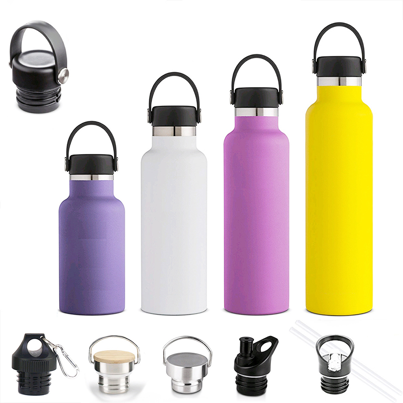 Zogifts Multi-Color 500ML Double Wall Stainless Steel Vacuum Insulated Flask Thermos
